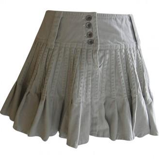 Plein Sud Jeans Beige Denim - Jeans Skirts