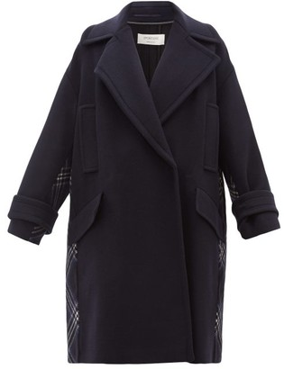 Sportmax Emily Coat - Womens - Navy