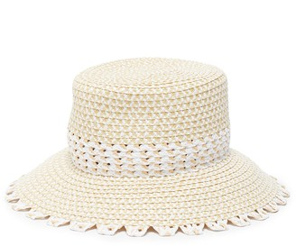 Eric Javits 'Mita' Pico Brim Fedora Hat