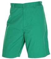 Club Room Twill Flat Front Khakis Chinos Solid Shorts