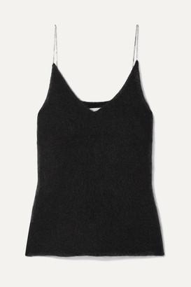 3.1 Phillip Lim Crystal-embellished Knitted Tank - Black
