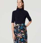 LOFT Garden Pencil Skirt