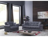 """Thumbnail for your product : Winston Porter Humaira 63"""" Chenille Rolled Arm Loveseat"""