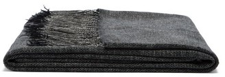 From The Road - Turi Fringed Wool And Cashmere-blend Blanket - Black