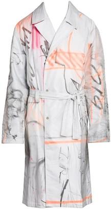 Off-White Futura Multicolor Trench Coat