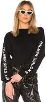 Palmer Girls x Miss Sixty Long Sleeve Crop Top