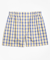 Brooks Brothers Slim Fit Shadow Check Boxers