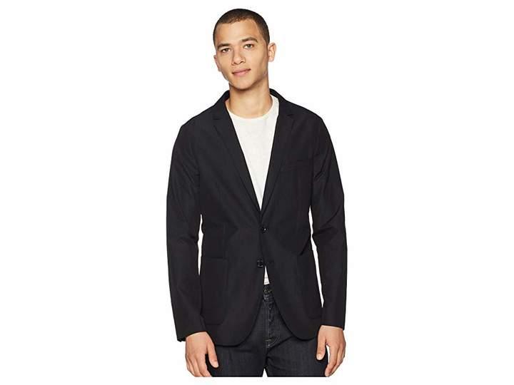 Calvin Klein Seersucker Packable Blazer Men's Jacket
