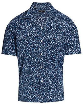 Saks Fifth Avenue MODERN Short-Sleeve Printed Shirt