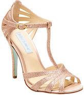 Betsey Johnson Tee Open Toe T-Strap Sandals