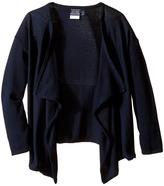 Nautica Girls Plus Drape Front Sweater (Big Kids)