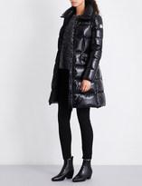 Moncler Jasminum longline quilted jacket