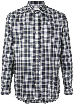 Cerruti Checked Long Sleeved Shirt