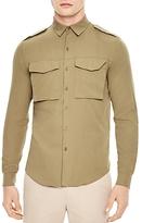 Sandro Militaria Slim Fit Button-Down Shirt