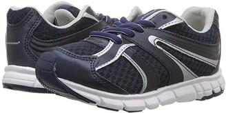 Tsukihoshi Dash (Toddler/Little Kid) (Navy/Gray) Boys Shoes