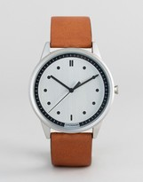 Hypergrand Classic Honey Leather Strap Watch