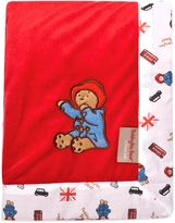 Trend Lab Paddington BearTM 30-Inch x 40-Inch Velour Receiving Blanket in Red