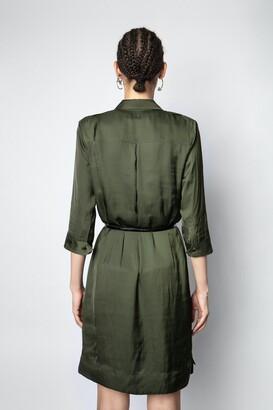 Zadig & Voltaire Roa Satin Dress