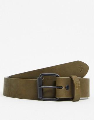 Farah 30mm stud belt in khaki