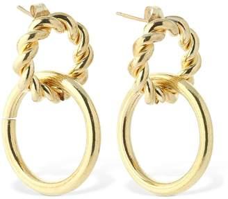 Laura Lombardi Halo Double Hoop Earrings