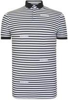 Armani Jeans Striped Polo Shirt