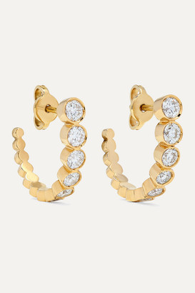 Sophie Bille Brahe Boucle Ensemble 18-karat Gold Diamond Earrings - one size