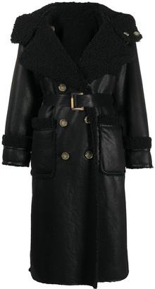 Urban Code Shearling Lined Coat
