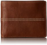 Fossil Men's RFID Blocking Turk Bifold Wallet with Flip ID