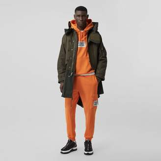 Burberry Nylon Hooded Parka with Detachable Warmer