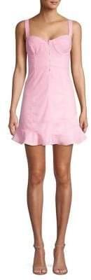 ASTR the Label Luca Ruffle Skater Dress