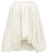 Molly Goddard Britta Floral-print Cotton-poplin Puffball Skirt - Womens - Cream Print