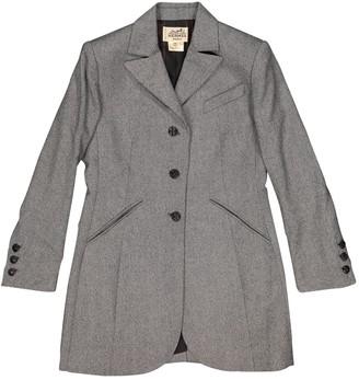 Hermes Green Wool Jacket for Women Vintage