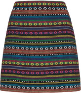 Topshop Moroccan Blanket A-line Skirt