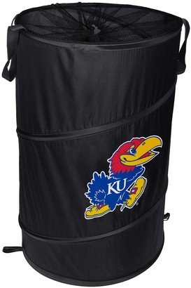 Kansas Jayhawks Cylinder Pop Up Hamper