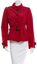 Burberry Belted Lightweight Jacket