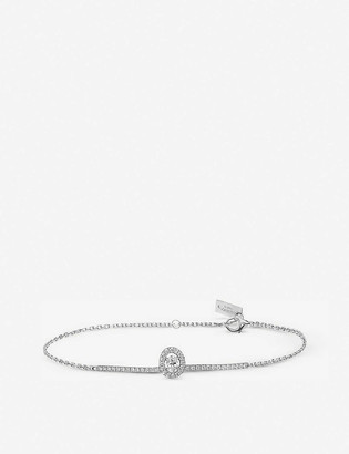 Messika Glam'Azone 18ct white-gold and diamond bracelet