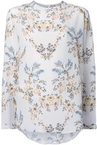 Stella McCartney long sleeved floral blouse - women - Silk - 44