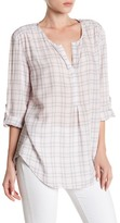 Casual Studio Plaid Blouse