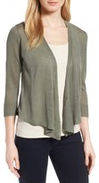 Nic+Zoe Petite Women's 4-Way Convertible Three Quarter Sleeve Cardigan