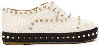Charlotte Olympia Studded Platform Shoes