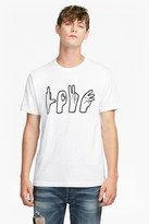 French Connection Love Hands Crew Neck T-Shirt