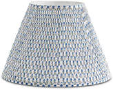 Bunny Williams Home Spring Starflower Lampshade - Blue/White