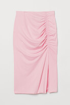 Thumbnail for your product : H&M Gathered jersey skirt