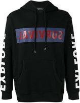 Markus Lupfer 'survival' print hoodie