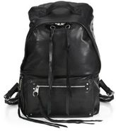 McQ by Alexander McQueen Loveless Leather Backpack