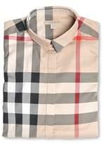 Burberry Women's 3918091 Beige Cotton Shirt.