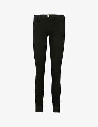 Frame Le Skinny mid-rise jeans