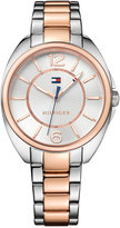 Tommy Hilfiger Women's Sophisticated Sport Two-Tone Stainless Steel Bracelet Watch 38mm 1781696