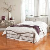 Fashion Bed Group Lotus Complete Bed in Brushed Pewter
