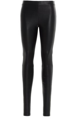 Theory Leather Skinny Leggings